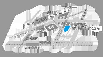 大阪営業所マップ